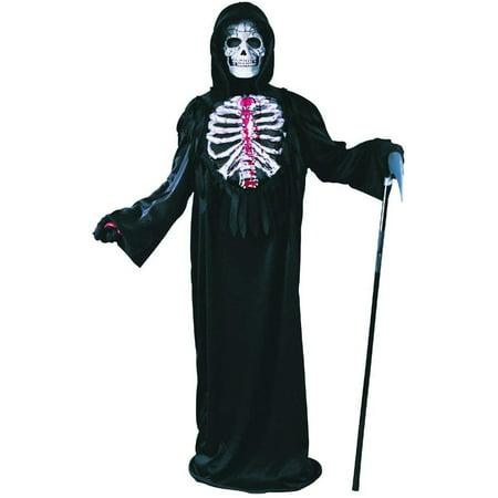 Best Large Group Halloween Costumes (Bleeding Skeleton Child Costume)