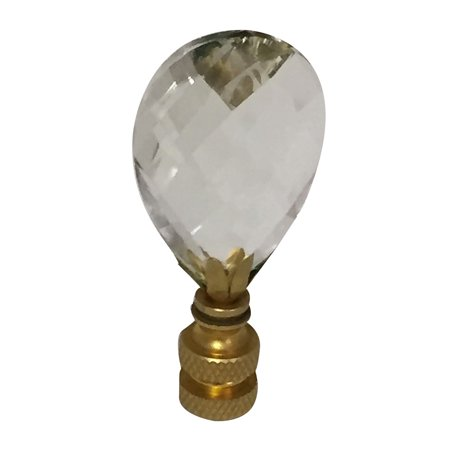 Royal designs small diamond swiss cut clear k9 crystal lamp finial royal designs small diamond swiss cut clear k9 crystal lamp finial for lamp shade with polished aloadofball Images