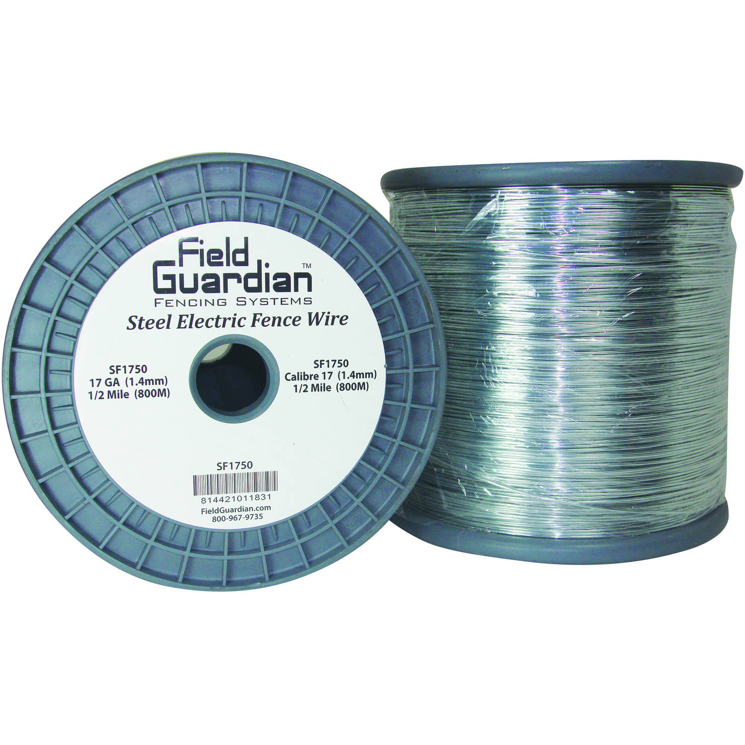 Field Guardian 17 GA. Galvanized Steel Wire, 1/2 Mile
