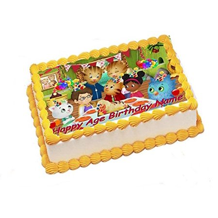 Daniel Tiger Edible Image Sheets Cake Toppers (Frosting Sheet)