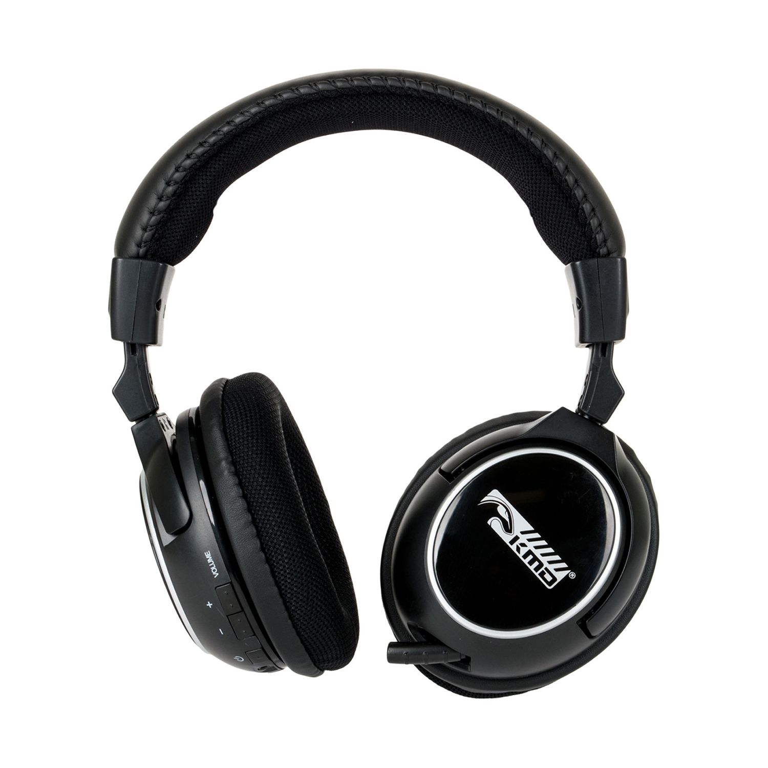 KMD Wireless Professional Gaming Headset With Microphone For PS3/Xbox 360/Mac/PC Black