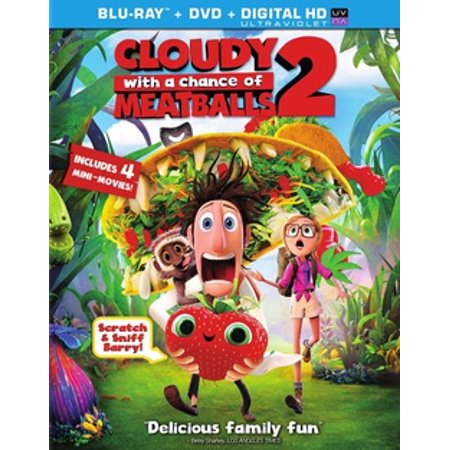 Cloudy with a Chance of Meatballs 2 (Blu-ray) - Chances With Wolves Halloween
