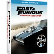 Fast & Furious: 8-Movie Collection (Blu-ray + Digital Copy)