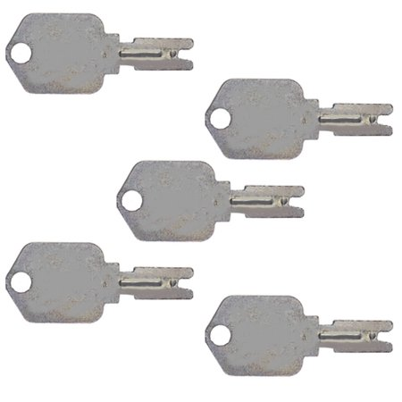 1430 (5) Hyster Heavy Equipment Ignition Keys Clark Yale Daewoo Hyster Gradall JLG Forklift - Mitsubishi Forklift Parts