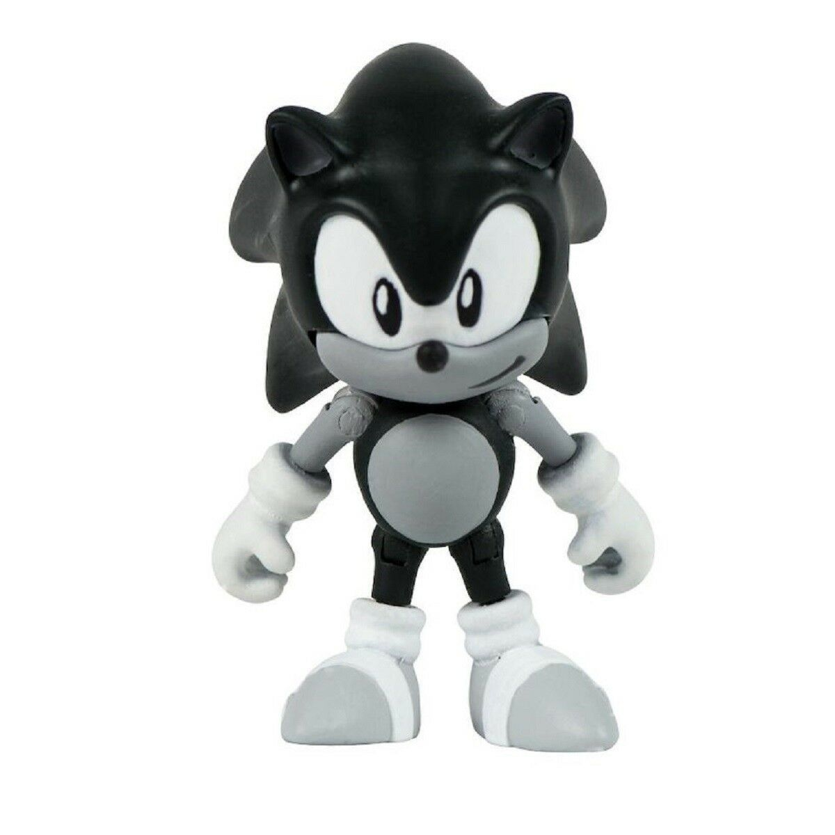 Action Figure Toy Sonic The Hedgehog Classic Sonic Black And White Walmart Com Walmart Com