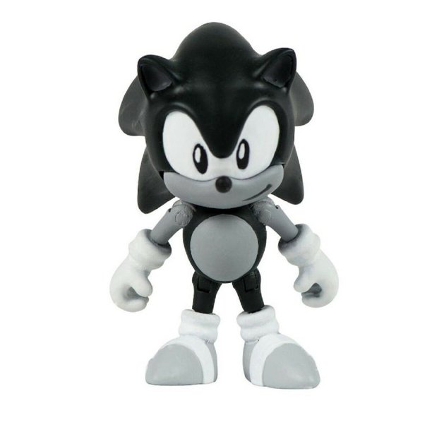 Action Figure Toy Sonic The Hedgehog Classic Sonic Black And White Walmart Com Walmart Com
