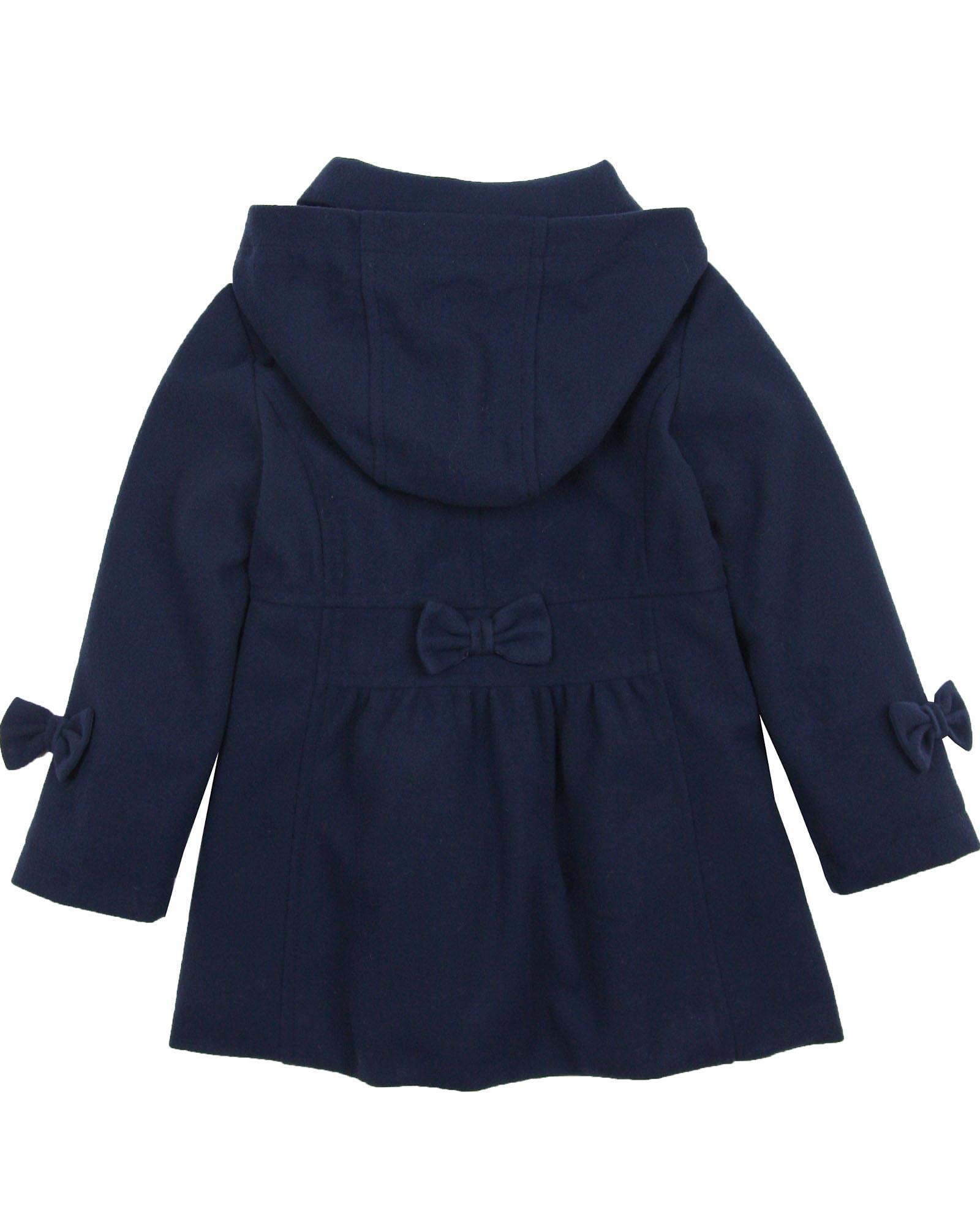 Le Chic Baby Girls Felt Coat Sizes 12M-24M