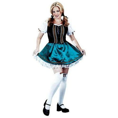 Sissy Costume (Sassy Gretel Adult Halloween Costume - One)