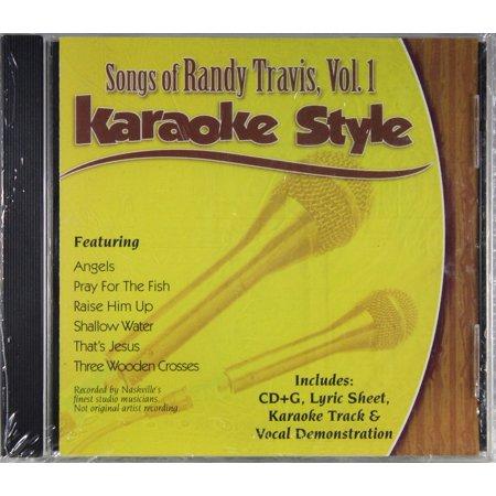 Songs of Randy Travis Volume 1 Daywind Christian Karaoke Style NEW CD+G 6