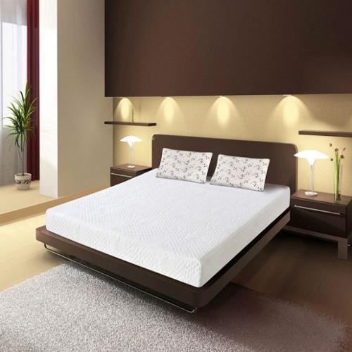 orthosleep product double layered 9inch cal kingsize memory foam mattress