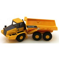 ERTL 46588 Articulated Dump Truck, 3 Years and Up Age, Yellow Cat Articulated Dump Truck