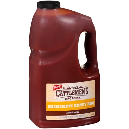 Cattlemen's Mississippi Honey BBQ Sauce, 1 gal (Best Barbecue In Mississippi)
