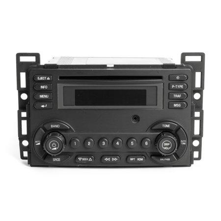 2008-2009 Pontiac G6 AM FM Radio CD Player w Aux Input OEM Part Number 25890719 - Refurbished