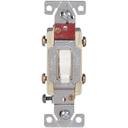Cooper Wiring CS120B 20 amp Commercial Grade Single Pole Compact Toggle Switch with Side Wiring, Brown - image 1 of 1