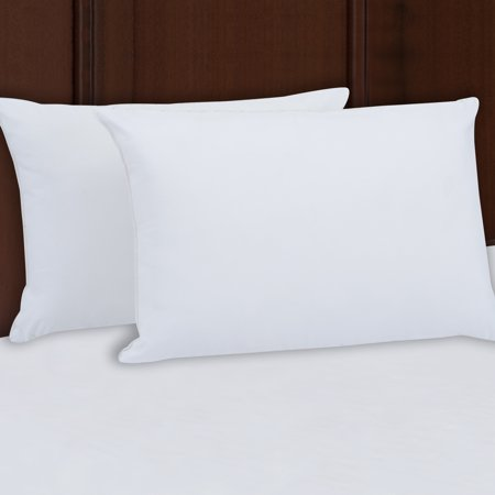 Mainstays 100% Polyester Firm Support Pillow Set of 2 Multiple