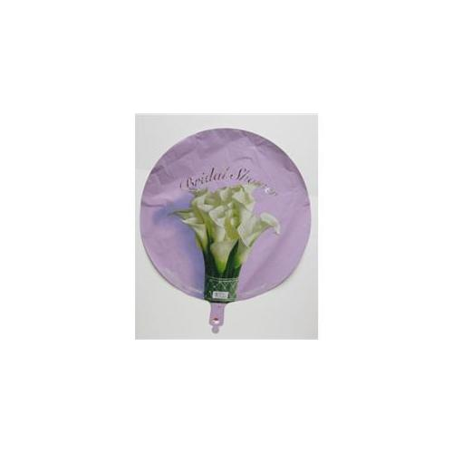 Bulk Buys 18 inch Bridal Shower Floral Balloons - Case of 36