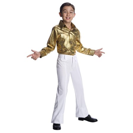 Boys Hologram Disco Shirt - Disco Shirts For Sale