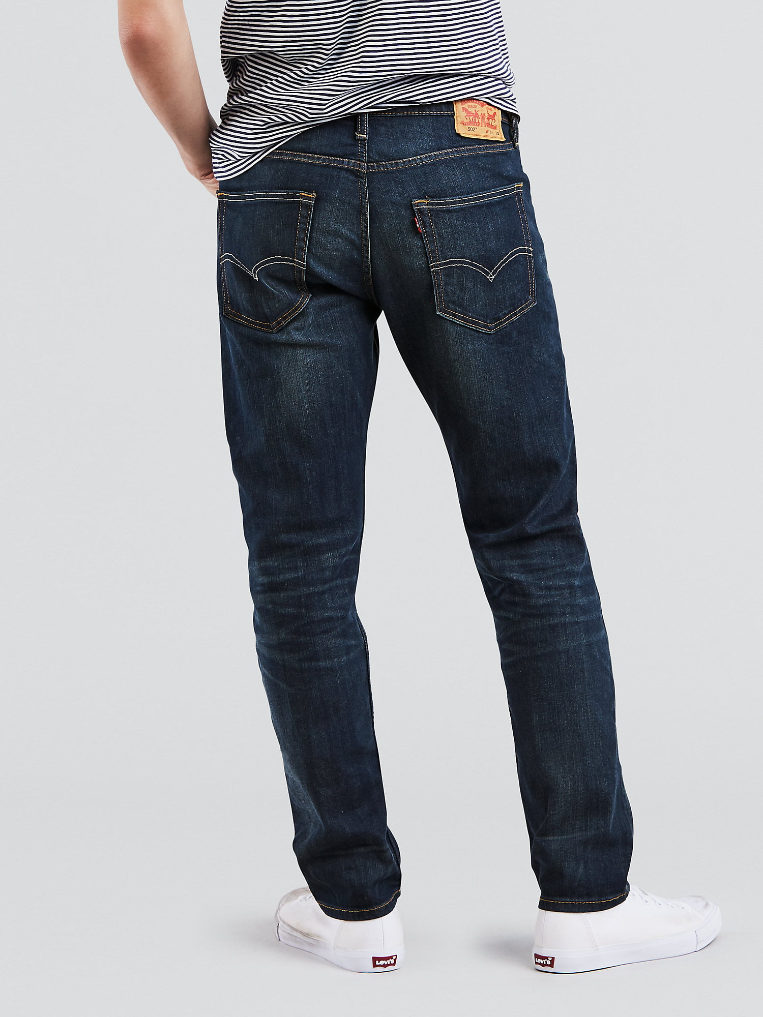 b457c40e948 Levi's - Levi's Men's 502 Regular Tapered Jeans - Walmart.com