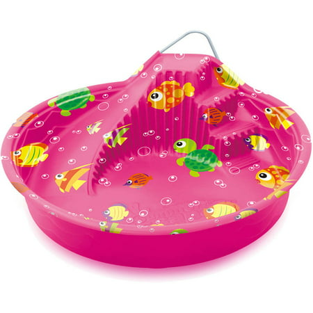 Summer Escapes 70 Quot Wading Pool With Slide Pink Walmart Com