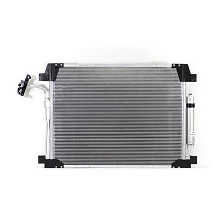 A-C Condenser - Pacific Best Inc For/Fit 3895 11-13 Infiniti M37/M56 14-18 Q70/Q70L 3.7/5.6L WITH Receiver &