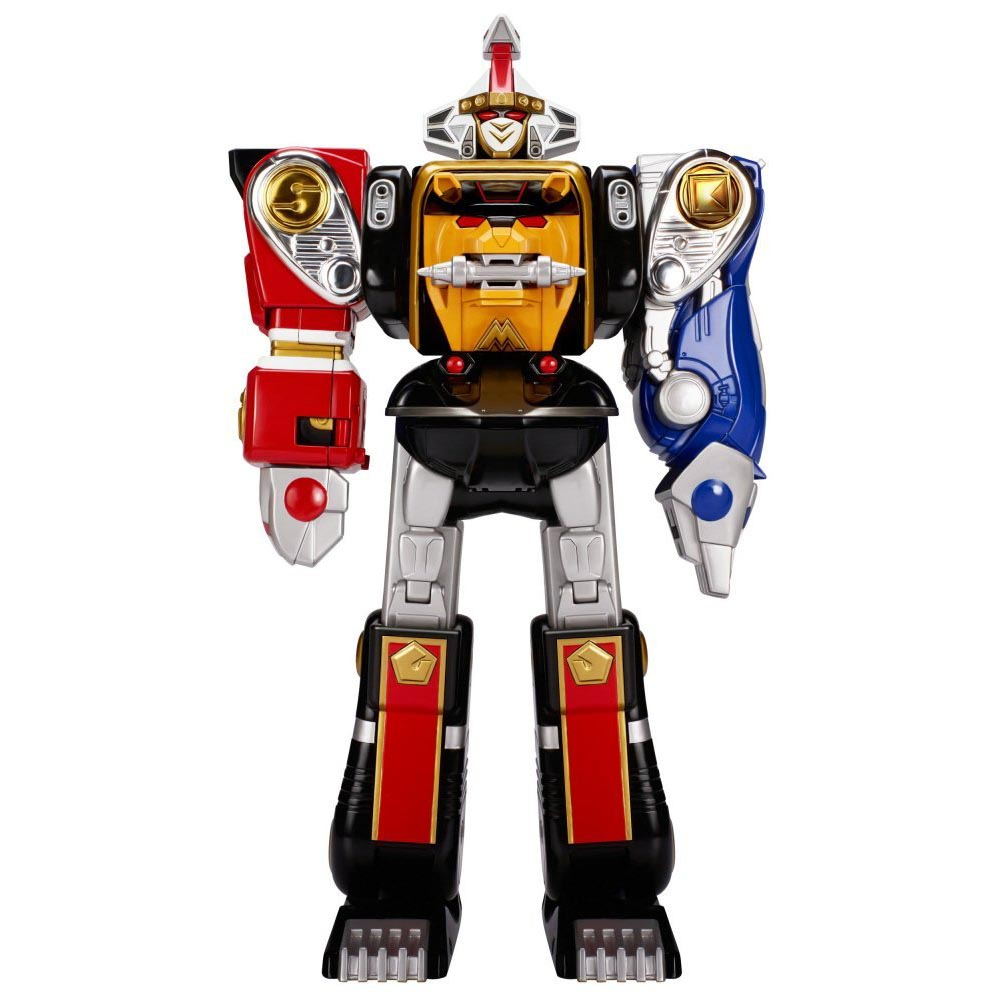 Power Rangers Mighty Morphin Legacy Ninja Megazord Action Figure Toy