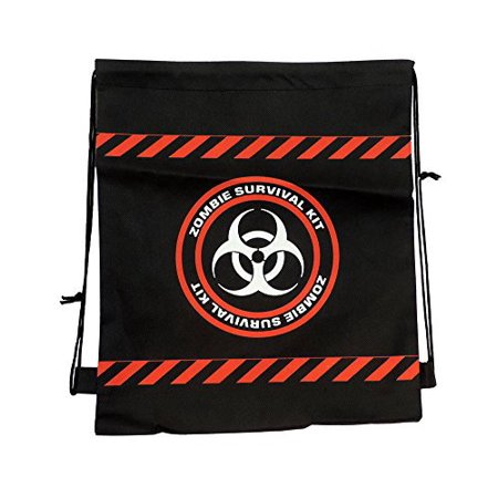 Drawstring Backpack Zombie Survival Bag (Drawstring Backpacks)