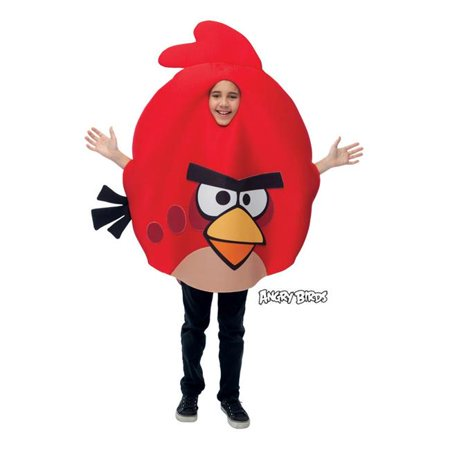 Costumes For All Occasions Pm769764 Angry Birds Red Child