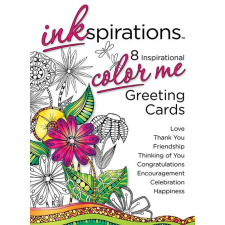 Inkspirations color me greeting cards walmart inkspirations color me greeting cards m4hsunfo