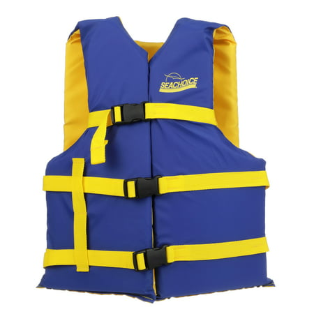 Seachoice 86220 Type III Personal Flotation Device for Adults (Universal), Blue/Yellow