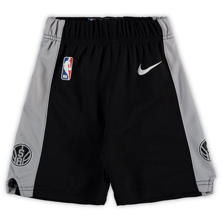 - San Antonio Spurs Nike Toddler Team Icon Replica Shorts - Black