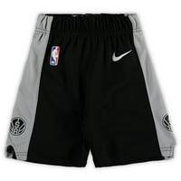 San Antonio Spurs Nike Toddler Team Icon Replica Shorts - Black