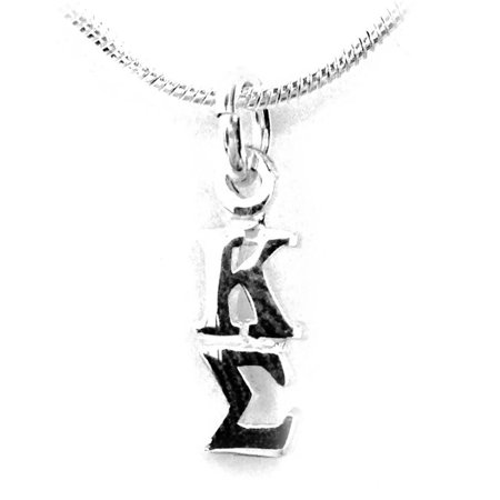 Kappa Sigma Fraternity Lavalier Sterling Silver With Chain