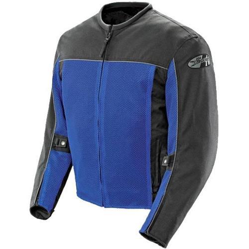 Joe Rocket Velocity Mens Mesh Textile Jacket  Blue