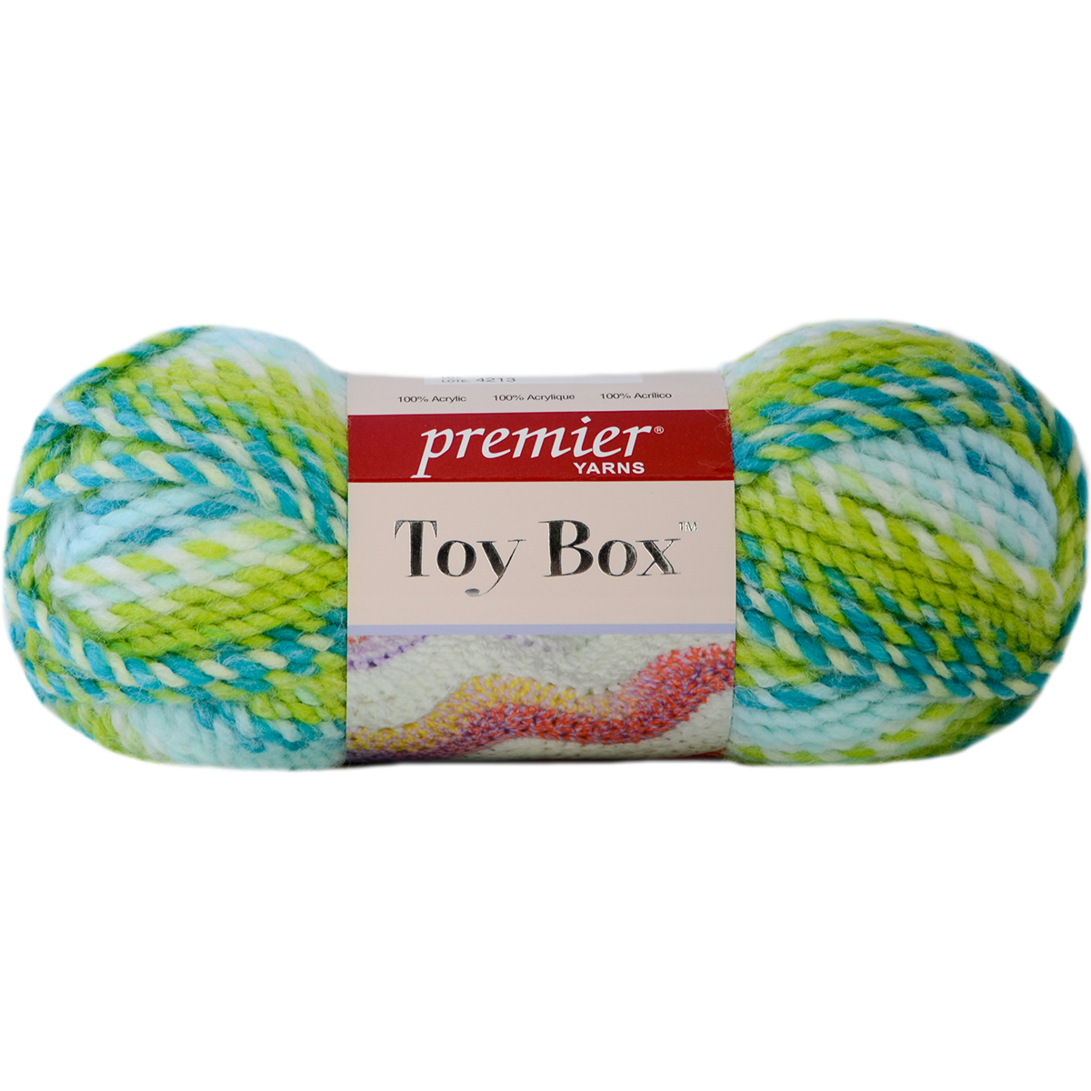 Toy Box Yarn-Hula Hoop