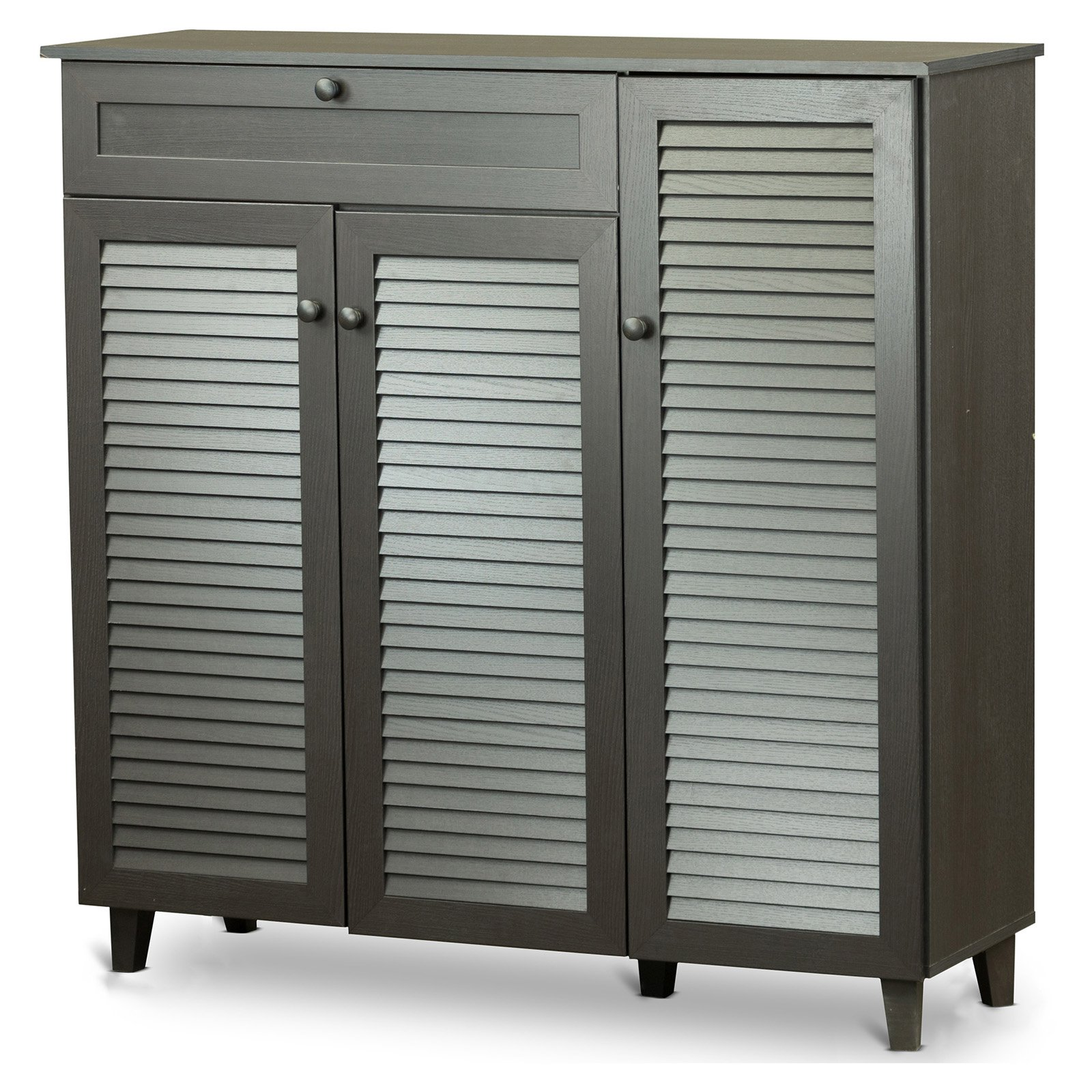 Charmant Baxton Studio Pocillo Wood Shoe Storage Cabinet   Walmart.com