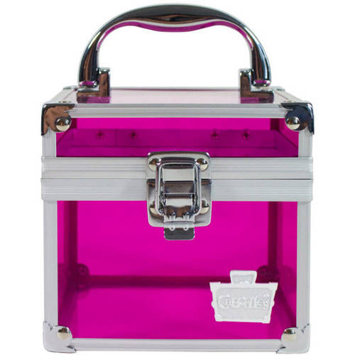 Caboodles Mini Cube, Pink Tint