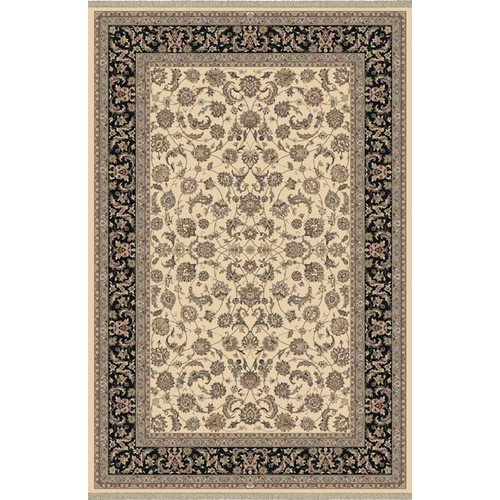 Crescent Drive Rug Company Cirro Ivory / Black Dynamic Area Rug