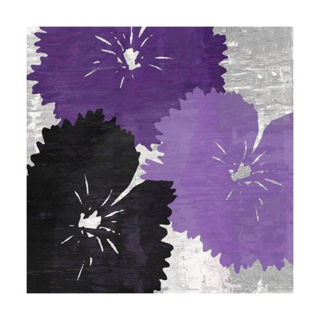 Bloomer Squares IX Print Wall Art By James - Mid Bloomer