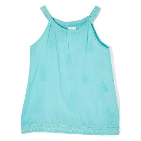 Renaissance Tunics (Azul Girls Aqua Solid Color Renaissance Sleeveless Cover-Up)