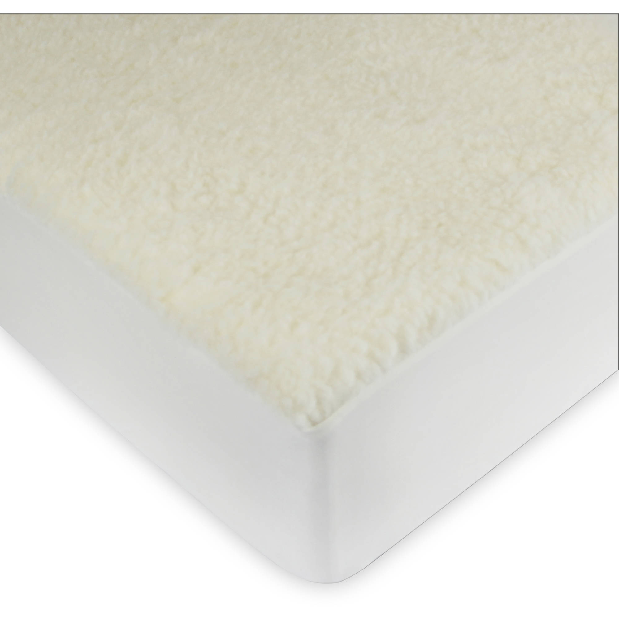 Century Home C601-010 Natural Home Wool Mark Certified Pure Wool Filled Comfo...