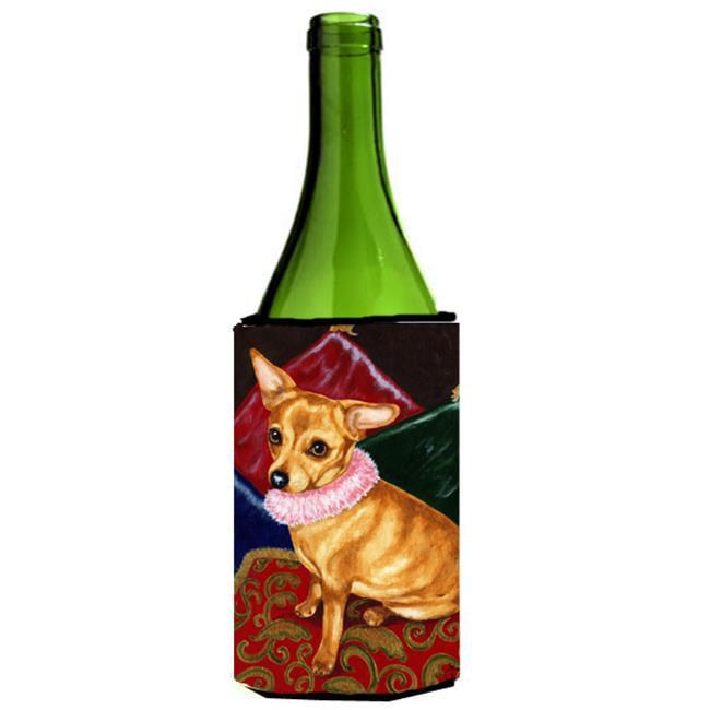 Pillow Princess Chihuahua Wine Bottle Can cooler Hugger