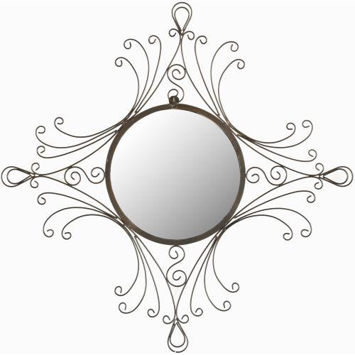 "Safavieh MIR3009 28.3"" Diameter Circular Mirror from the Maltese Collection"