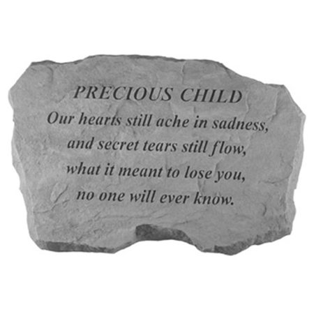 Kay Berry- Inc. 99020 Precious Child-Our Hearts Still Ache In Sadness - Memorial - 16 Inches x 10.5 Inches x 1.5 Inches - image 1 of 1