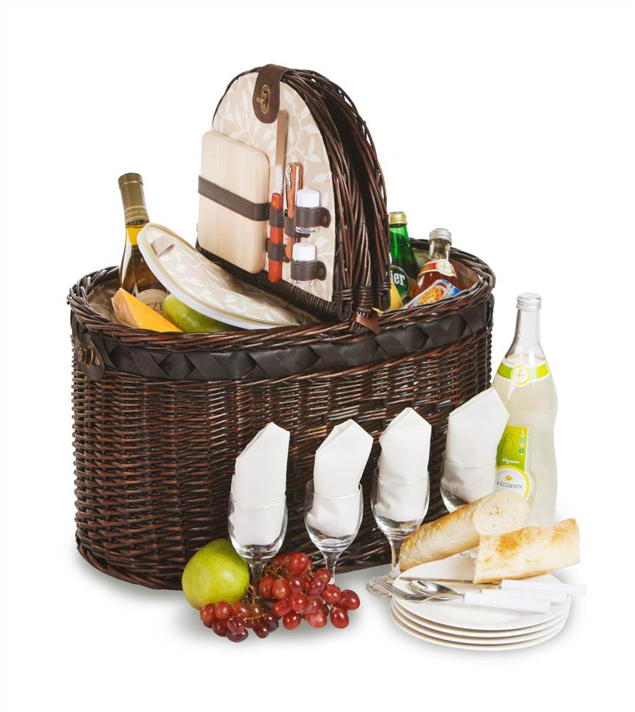 Torrington 4 Person Deluxe Picnic Basket