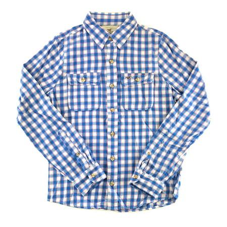 Hollister Mens Flannel Long Sleeve Shirt