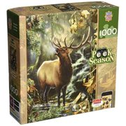 Masterpieces Jigsaw Puzzle Peek Season Collection, Bugling Bull, 1000-pieces