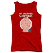 Family Guy Somewhere Juniors Tank Top Shirt