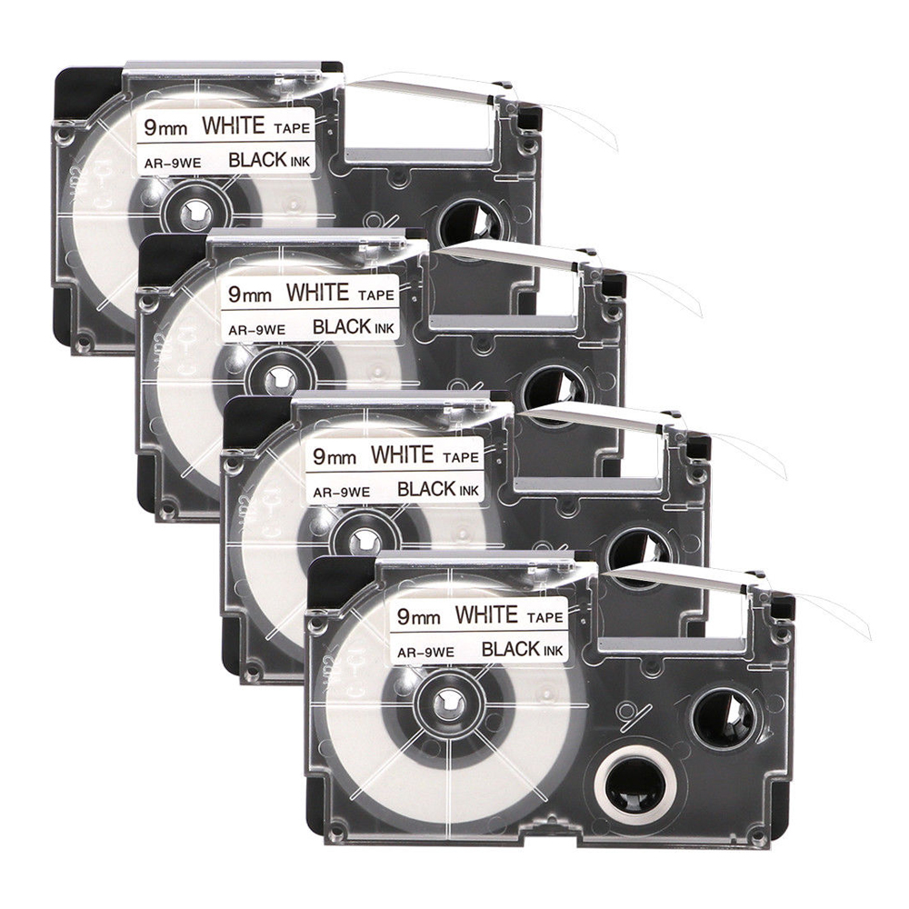 This is an image of Trust Casio Xr 9we Label Tape