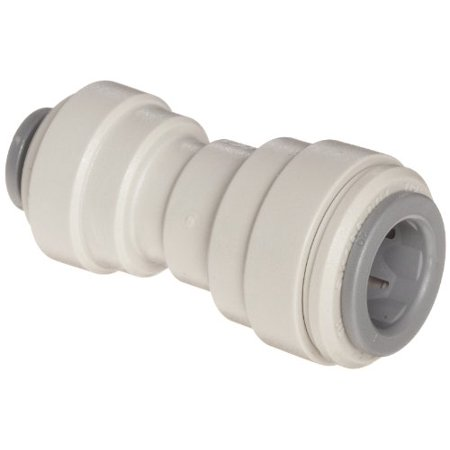 John Guest Acetal Copolymer Tube Fitting, Reducing Straight Union, 3/8