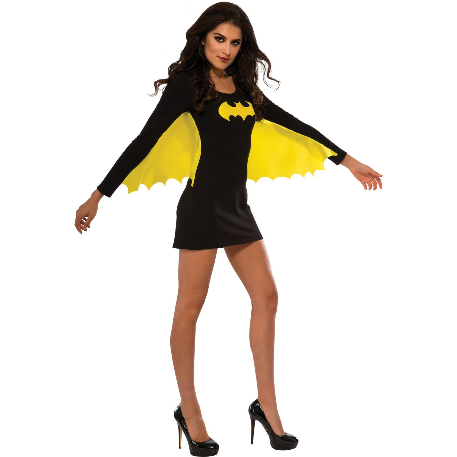 Batgirl Wing Dress Women's Adult Halloween Costume